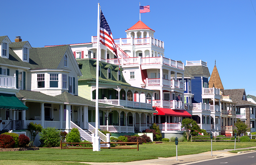 Best beach vacation destination on a budget is Cape May in New Jersey