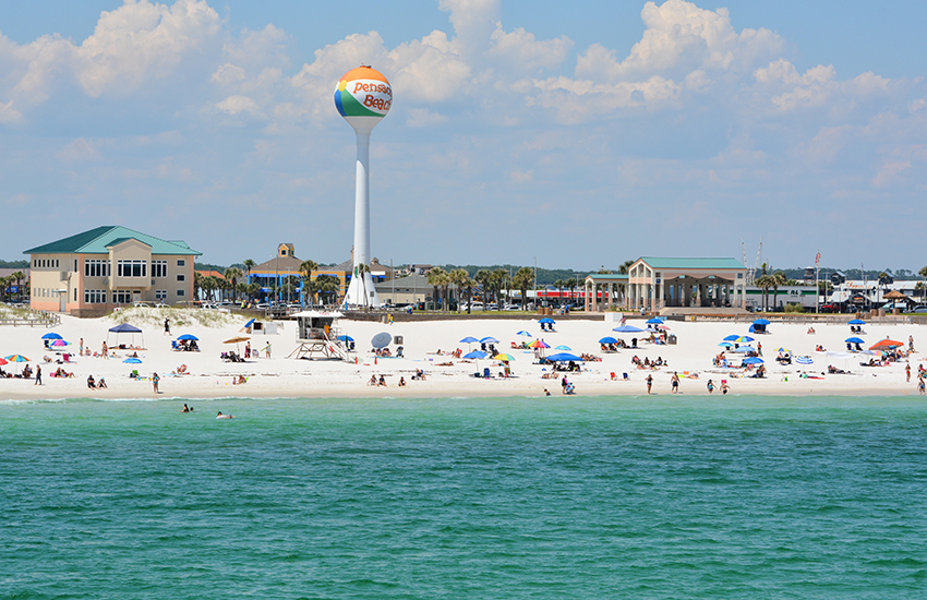 The best cheap vacation location in Florida is Pensacola Beach