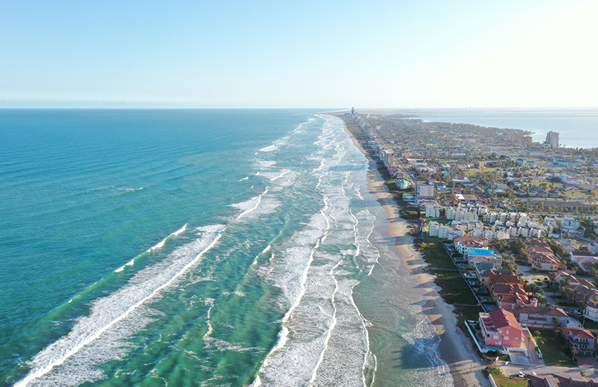 Top family vacation for cheap in the United States is South Padre Island in Texas