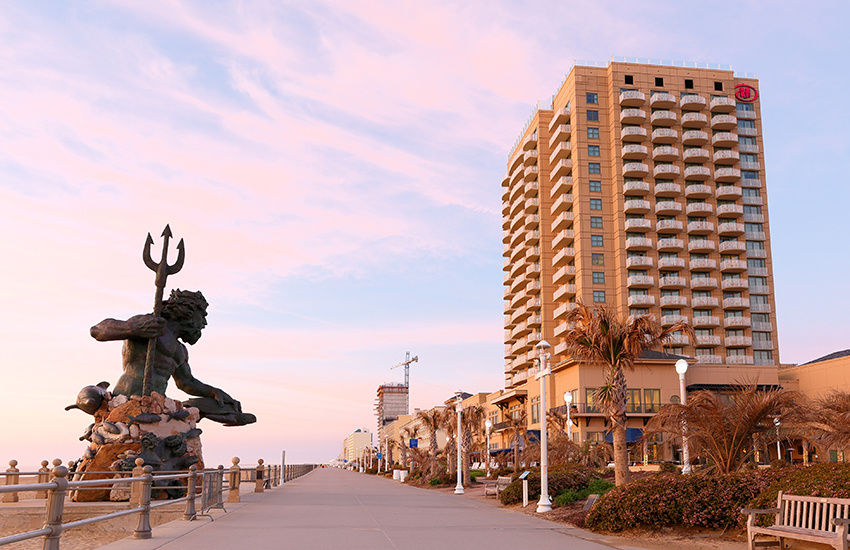 Where to vacation at the beach for a cost effective trip is Virginia Beach