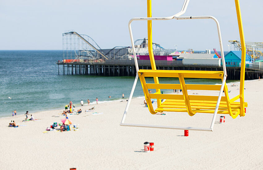 The top Labor Day travel idea to visit is Seaside Heights in New Jersey