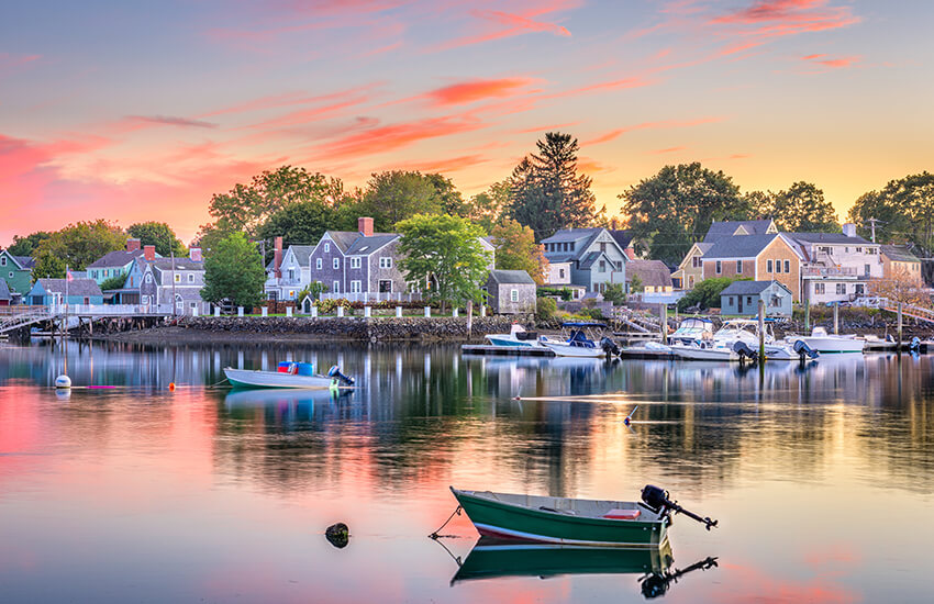 A top Labor Day vacation destination to visit is to Portsmouth in New Hampshire