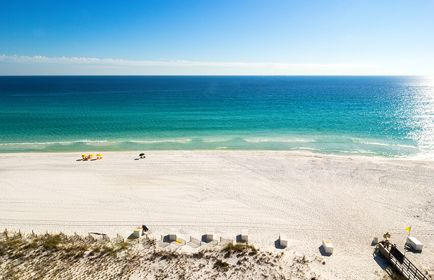 The best place where to travel to this Labor Day is Miramar Beach, Florida