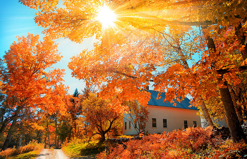 The best small towns for fall foliage
